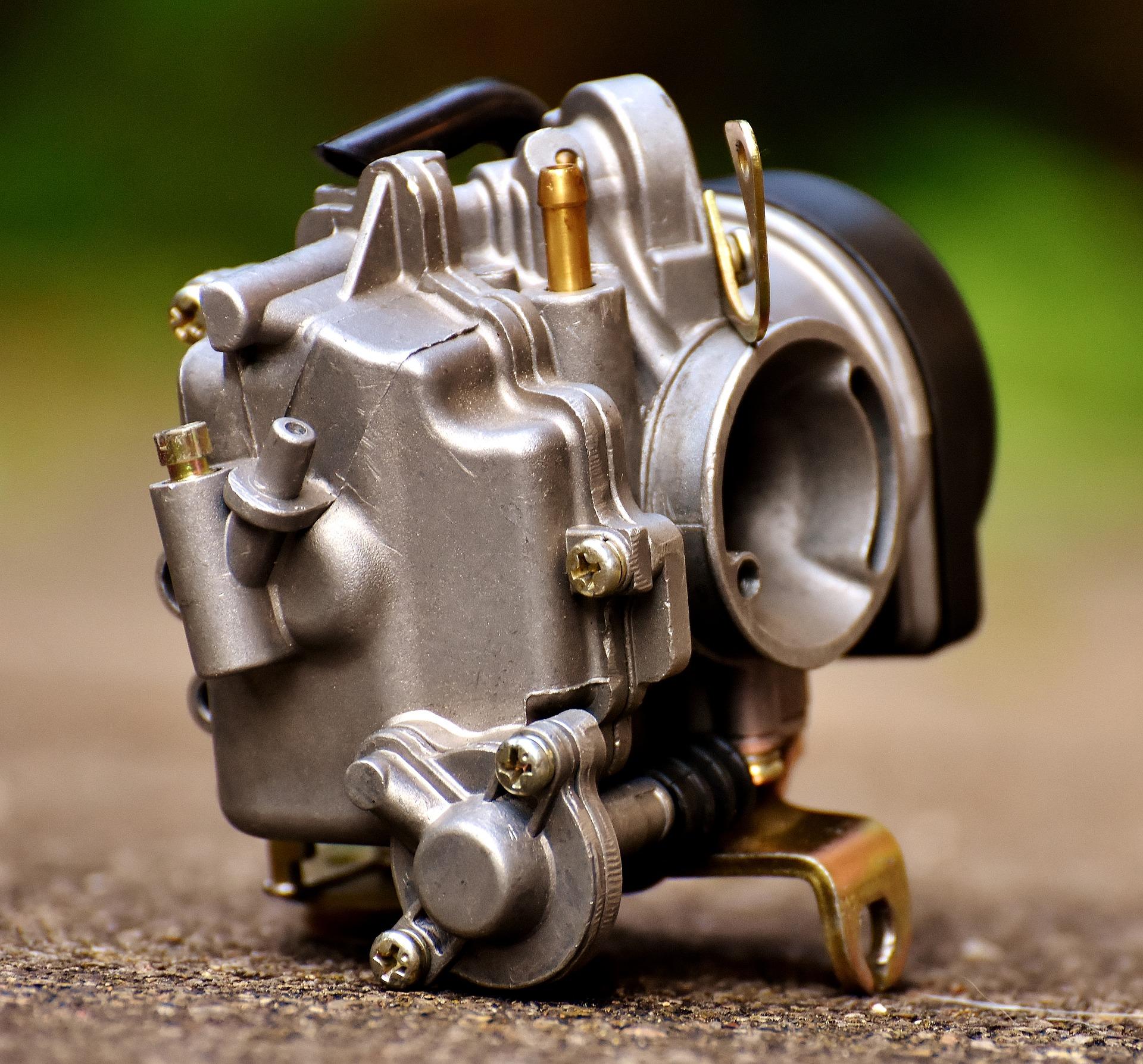 Čištění karburátoru